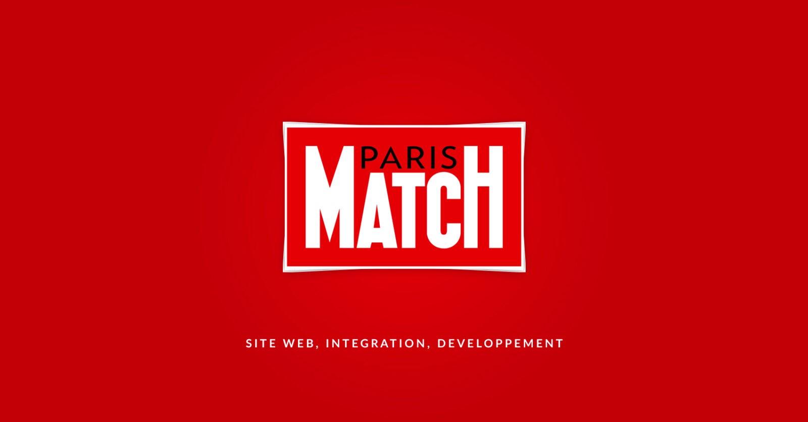 Conception et développement du site web de Paris Match par l'agence web Mojjoo à Paris