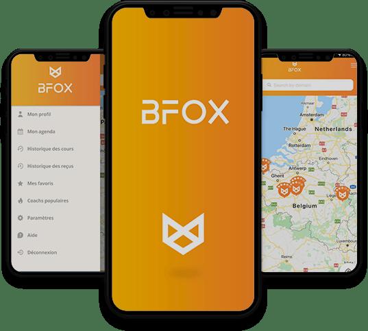 Conception, développement et publication de l'application mobile Bfox par l'agence experte en développement mobile Mojjoo