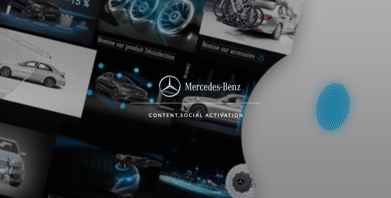 Mise en place de stratégies d'activation et de génération de leads pour Mercedes par l'agence web Mojjoo Paris.